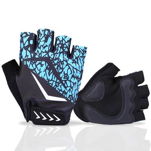 Cycling Gloves Half Finger Biking Gloves Anti-slip Breathable Mountain Bike Gloves for Men Women Image