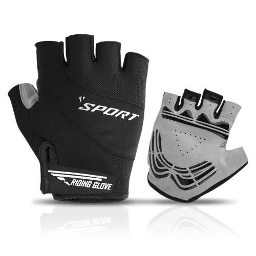 Mountain Bike Gloves Half Finger Biking Gloves Anti-slip Breathable Cycling Gloves for Men Women Image