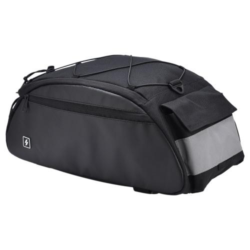 10L Fahrradträger Tasche Wasserdicht Radfahren Fahrrad Rücksitz Cargo Bag Fahrrad Kofferraum Pack Schulter Tragetasche
