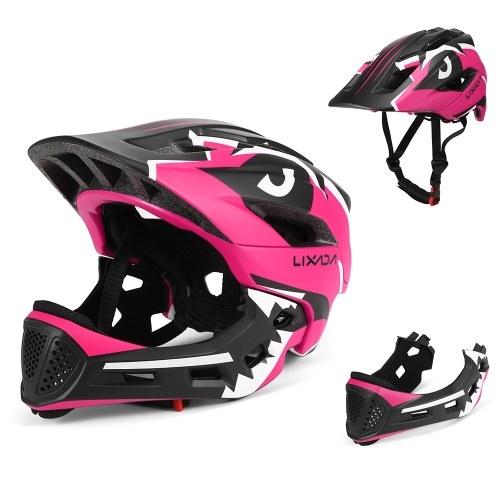 Lixada Kids Detachable Full Face Helmet Image