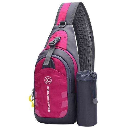 Men Women Sling Backpack Chest Crossbody Bag