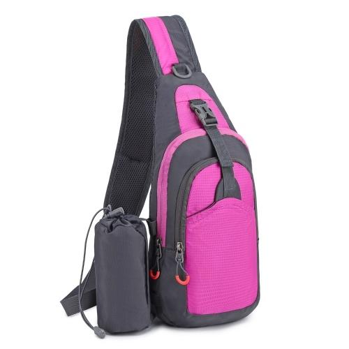 7L Sling Bag Women Men Shoulder Backpack Chest Pack Causal Crossbody Bag