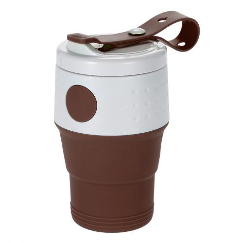 XND-C03 Tazza per caffè espandibile elastica pieghevole 395 ML