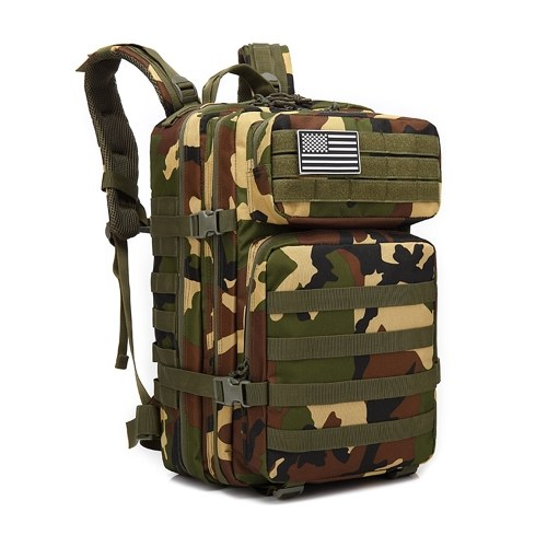 45L Military Tactical Backpack Army Assault Pack