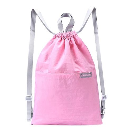 Drawstring Backpack Bag Unisex Gym String Bag