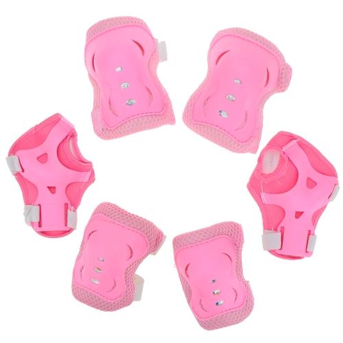 6Pcs Children Roller Skate Protective Guard Elbow Knee Wrist Pad Set