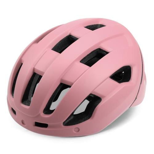 Breathable Cycling Helmet with Rear Light Magnetic Goggles Women Men Lightweight Safety Helmet Bike Helmet