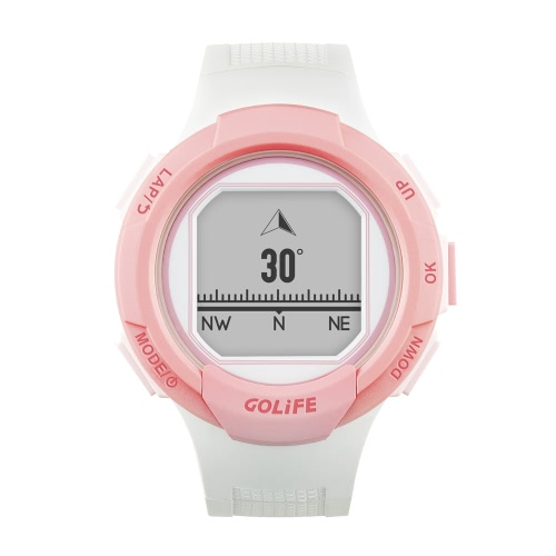 GOLiFE GoWatch 110i Plus GPS Sport Watch Compass Activity Tracker for Walking Running Cycling Driving