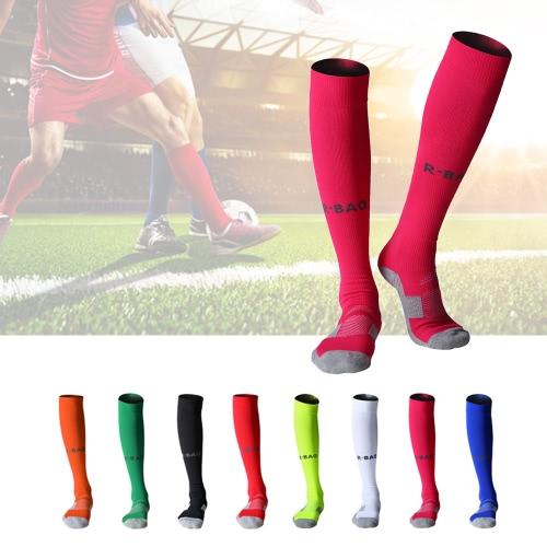 1 Coppia di antiscivolo Plantare calcio calzini adulti calzettoni lunghi Loom calzini traspiranti Calcio Calze sport esterni Calze Compression Socks