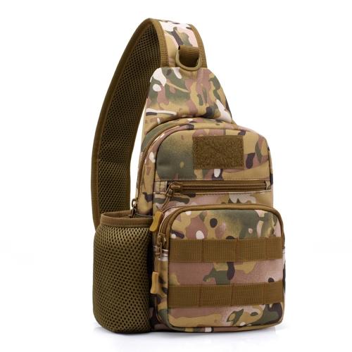 Cavaliere libero Singolo borsa a tracolla all'aperto Sacco a pelo della cassa del sacchetto Molle Borsa casuale Crossbody del sacchetto di viaggio del sacchetto