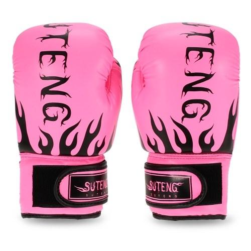 Los niños transpirable seguridad Kickboxing entrenamiento cuero guantes de boxeo