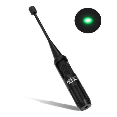 Boresighter Kit per .22-.50 Calibre Green Dot Sight Collimator Bore Sighter con 4 adattatori