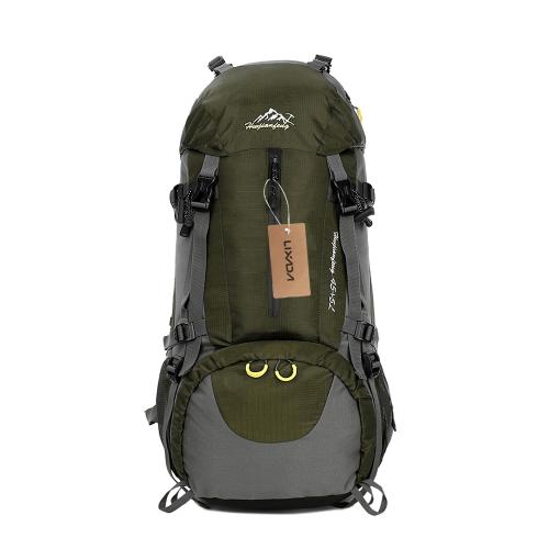 Lixada 50L Impermeabile Sport Outdoor Trekking Trekking Campeggio Zaino da viaggio Pacchetto Alpinismo Zaino rampicante con parapioggia