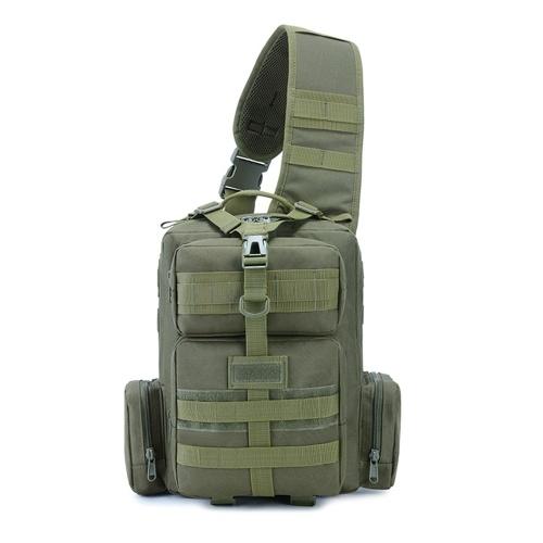 Tactics Pack Sling Backpack Army Molle Waterproof EDC Rucksack Bag