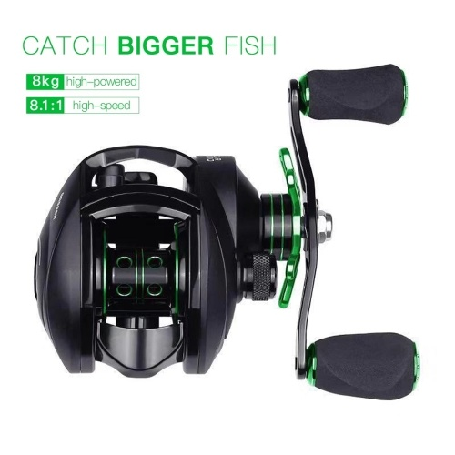 12+1 Ball Bearings Baitcasting Right Fishing Reel