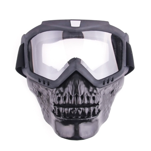 Outdoor Cool Skull Goggles Mask