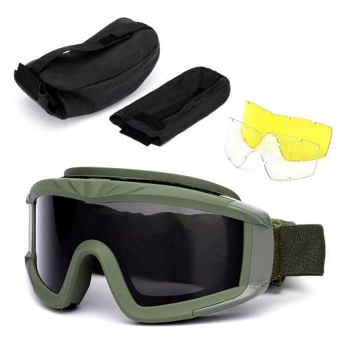 Outdoor Military Brille UV400 Schutzbrille