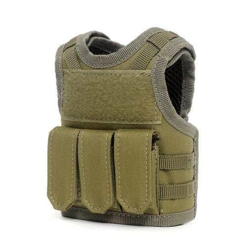 Tactical Beer Vest Adjustable Wine Bottle Cover фото