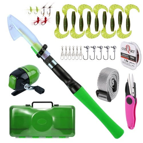 1.2M Fishing Rod and Reel Combo Image