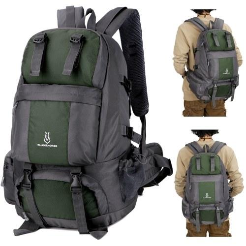50л походный рюкзак водонепроницаемый открытый спортивный рюкзак