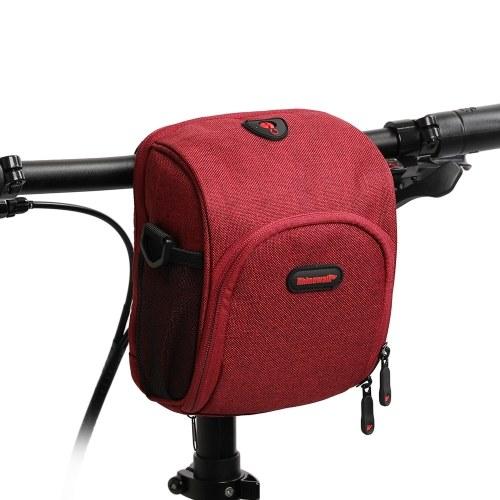 Waterproof Bicycle Handlebar Bag Image