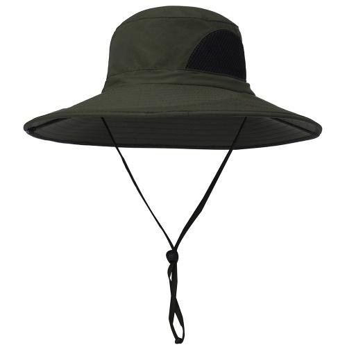 Cappellino di protezione UV con visiera larga per berretto estivo