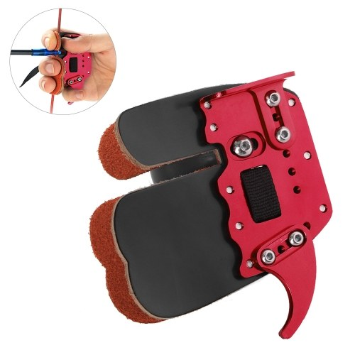 Archery Finger Guard Protection Pad Finger Tab For Finger Protector Archery Accessories