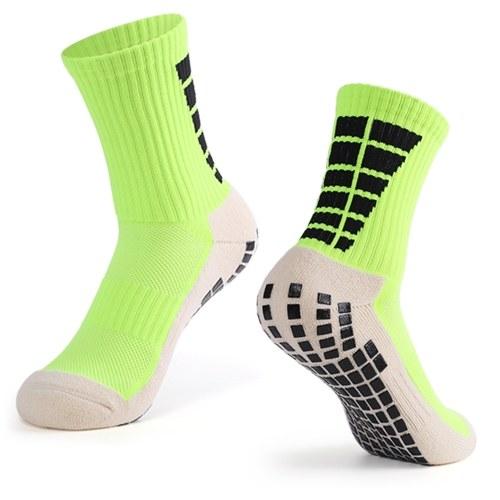 Men's Anti Slip Football Socks Sports Soccer High Tube Socks