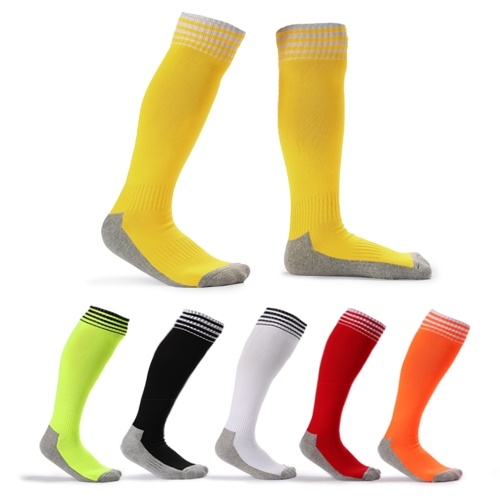 Kids Breathable Football Socks High Tube Socks Boys Girls Over Knee Sports Socks