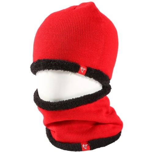 2 Stück Wintermütze Schal Set