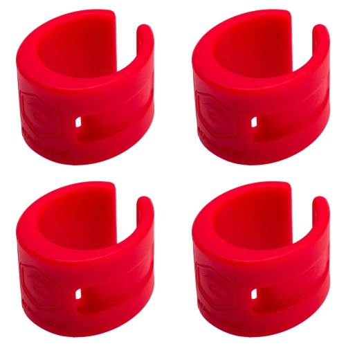 4 PCS Bicycle Frame Protector Chainstay Protector Bicycle Chain Stay Guards For Cycling Image