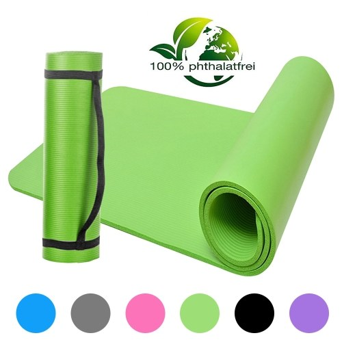 NBR Yoga Mat Closed-Cell Foaming Body Yoga Mat Non-slip Exercise Mat