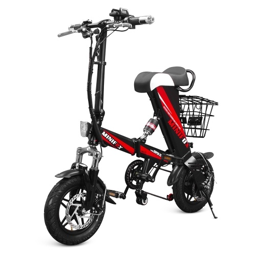 MINIOFX A36 12 Inch Folding Power Assist Electric Bicycle