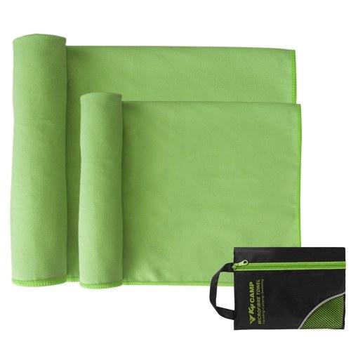 2шт набор полотенец для путешествий Quick Dry из микрофибры набор полотенец для рук фото