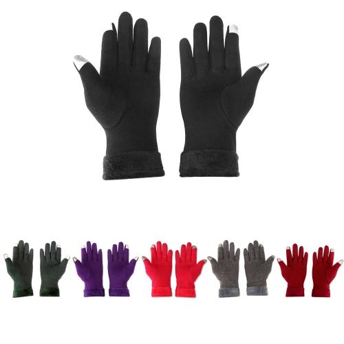 Guantes Táctiles Deportes Guantes de pantalla táctil de invierno al aire libre Tamaño libre de pantalla táctil caliente guantes pa