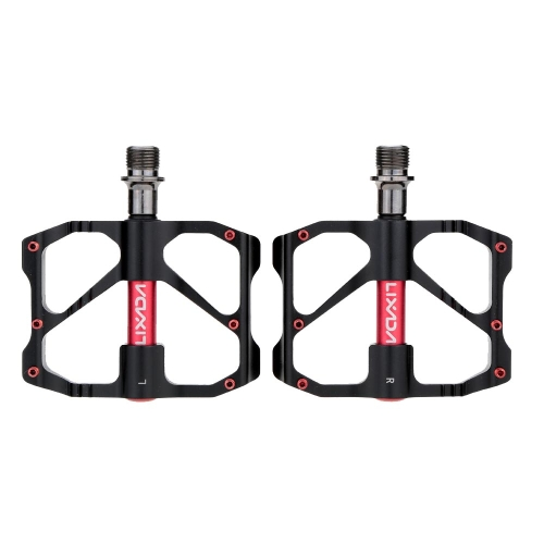 Rodamientos sellados de 2pcs Lixada aluminio aleación BTT pedales de plataforma 9/16
