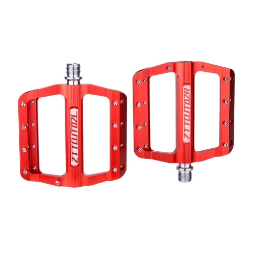 Aluminum Alloy MTB Road Bicycle Pedals Mountain Bike Pedals Anti-slip Wide Platform Pedals Image