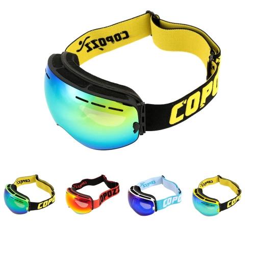 Image of UV Schutz Männer Frauen im Freien Sport winddichten Brille Professional Ski Snowboard Anti-Beschlag-Schutzbrillen