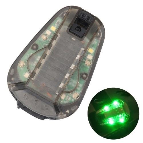 Capacete Strobe Light Resistente à água Lâmpada montada no capacete Survival Safety Flash light para acampamento de sobrevivência ao ar livre