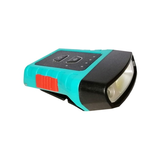 Cap Hat Light Lampe frontale rotative USB rechargeable