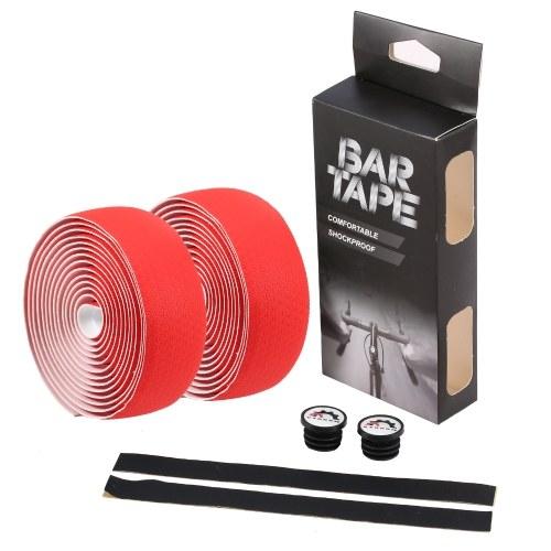 1 pair of Bicycle Handlebar Tapes Road Bike Handlebar Band Breathable Non-Slip Image