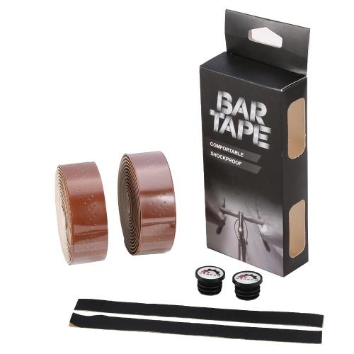 1 pair of Bicycle Handlebar Tapes  Road Bike Handlebar Band Breathable Non-Slip Cycling Handlebar Belt Image