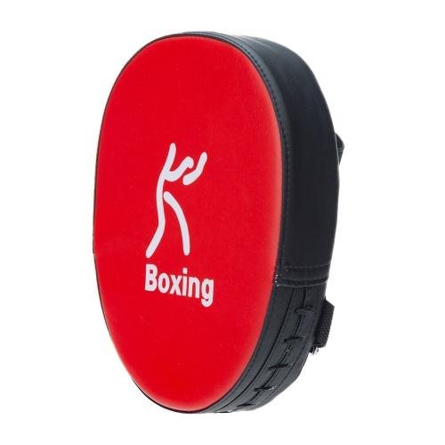 Boxen Stanzen Mitt PU Leder Dicker Schaum Gebogener Fokus Ziel Pad Kickboxen Muay Thai Karate Training Handpads