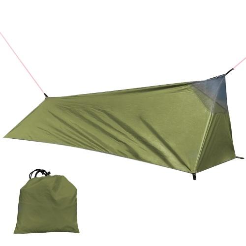 Туристическая палатка Открытый походный спальный мешок Палатка Легкая одноместная палатка с москитной сеткой
