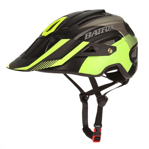 Bike Cycling Helmet with LED Tail Light Mountain Road Bicycle Helmets Outdoor Sport Safety Protective Helmet with Removable Visor