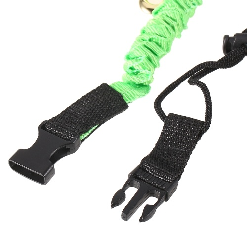 : Elastic Paddle Leash Kayak Canoe Safety Fishing Rod Rowing Boats Coiled Lanyard Cord Tie Rope thumbnail