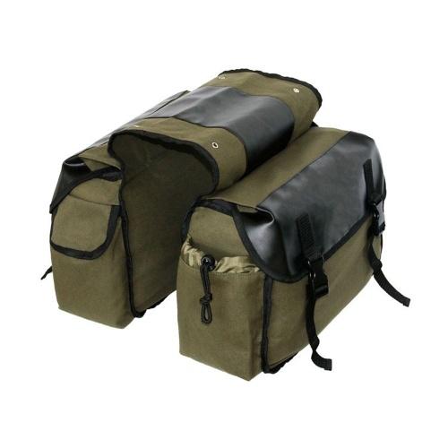 30L Bicycle Back Packs Mountain Bike Rear Seats Shelf Bag Bicycle Saddle Bag Riding Back Bag Large Capacity Bag Storage Bag Image