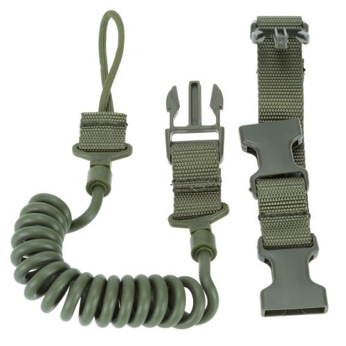 軍の戦術的な安全 2 点屋外ベルト ピストル手銃スリング ペイント ボール ストラップ