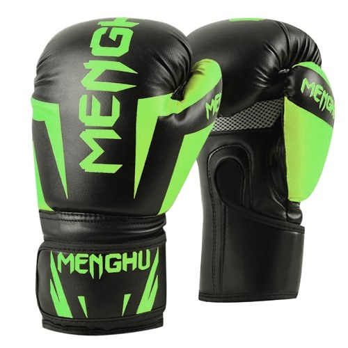 Boxing Gloves Kick Boxing Muay Thai Punching Training Bag Gloves Outdoor Sports Mittens Boxing Practice Equipment for Punch Bag Sack Boxing Pads for Men and Women 12oz