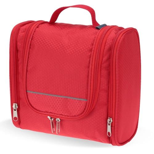 TOMSHOO портативный сумка комплект Организатор туалетных принадлежностей для макияжа женщины или мужчины брить комплект с подвесной крюк